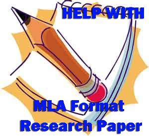 Format of a mla research paper